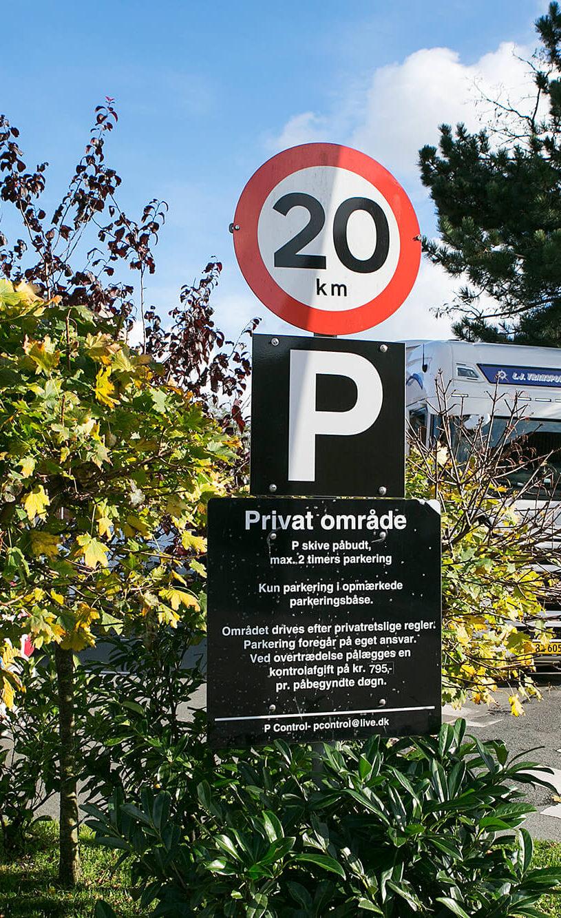 P-Control parkeringsskilt