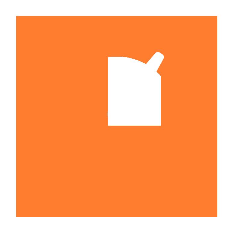P-Control logo P-skive